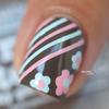 Nail art stripes et fleurs pp malt teaser 6