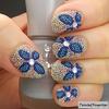 Microbead nail art