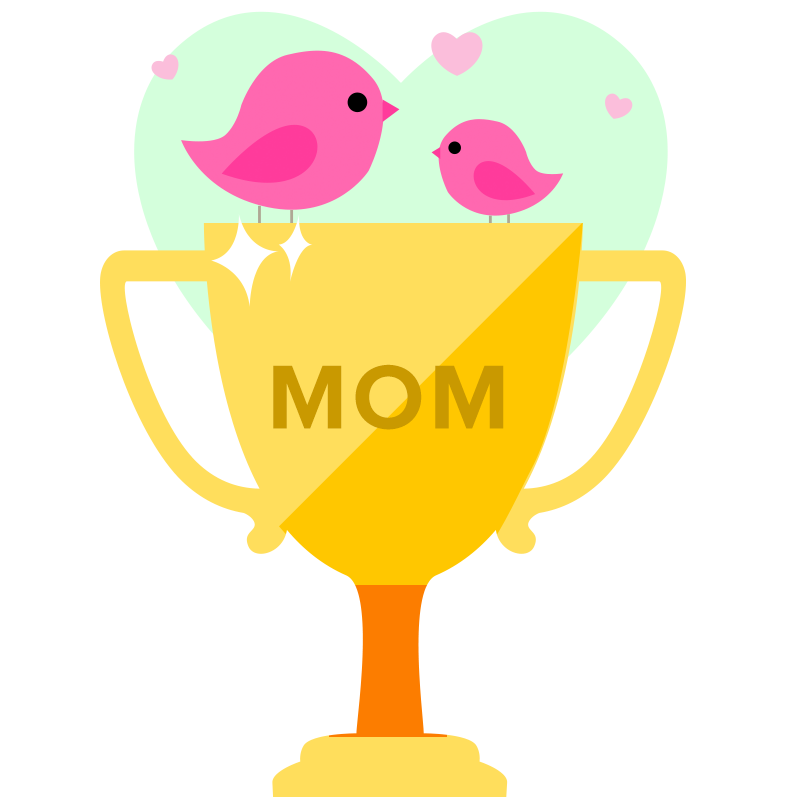 Limited Edition Mother's Day Contest Trophy