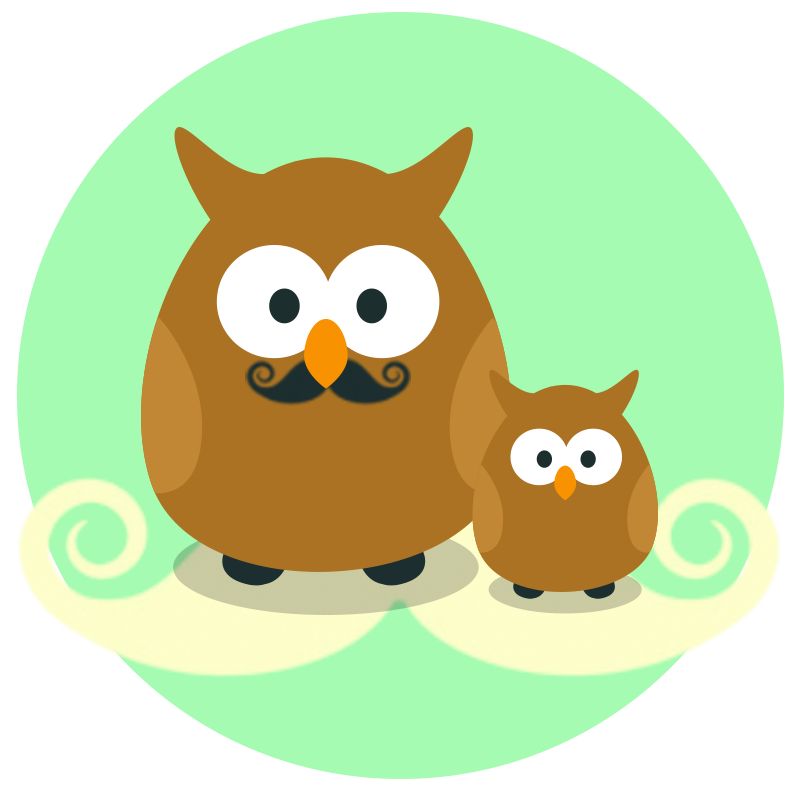 "Limited Edition ""Father & Child Owls"" Contest Badge"