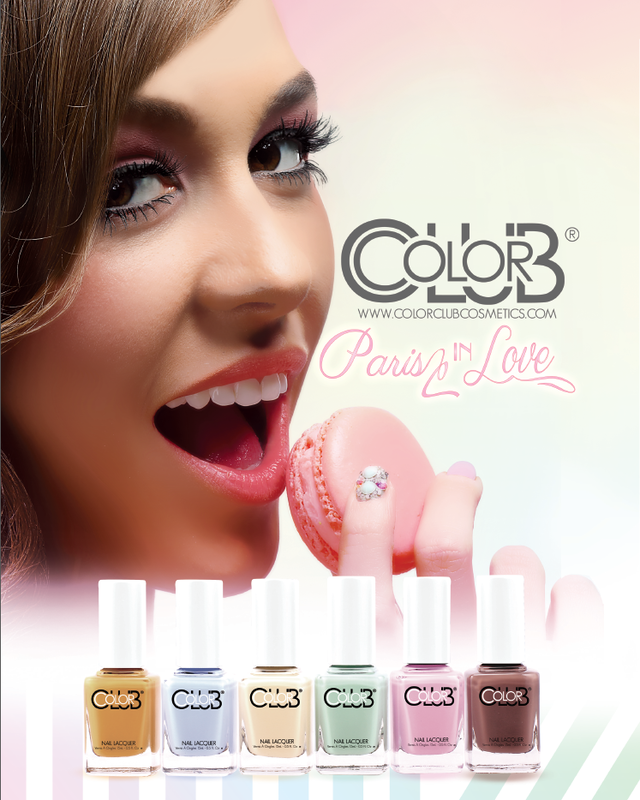 Color Club Paris In Love 2014 New Collection