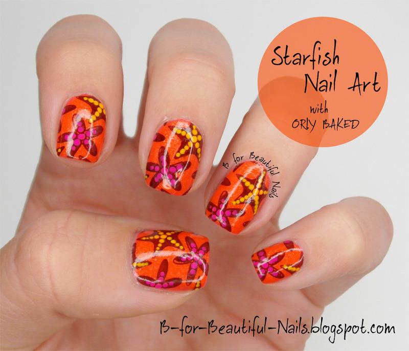 Starfish nails - Summer Nail Art Nailpolis Magazine