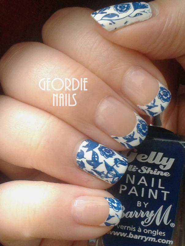 Geordie Nails nail art by Lisa