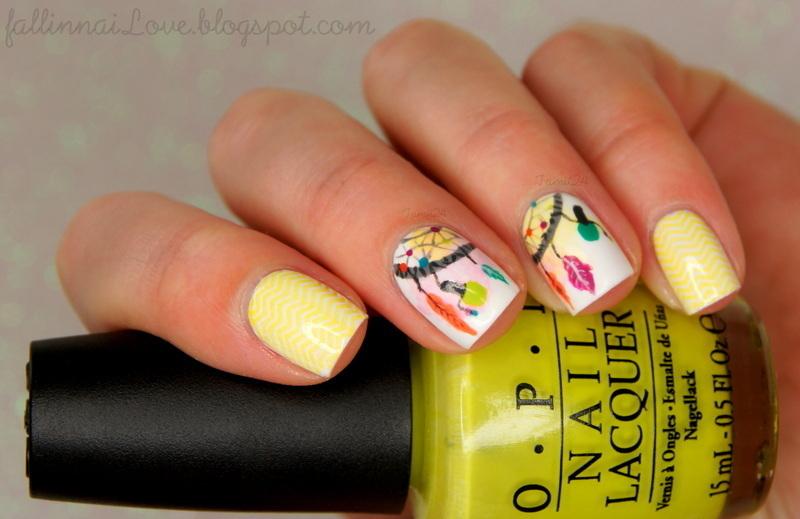 Fall in... naiLove! nails nail art by Paulina