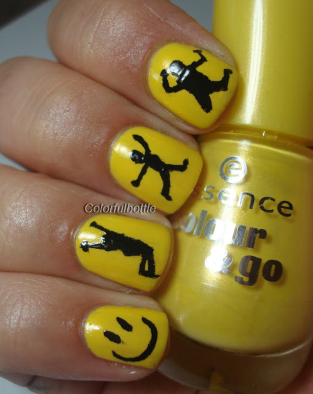 Happiness nail art by Dolores