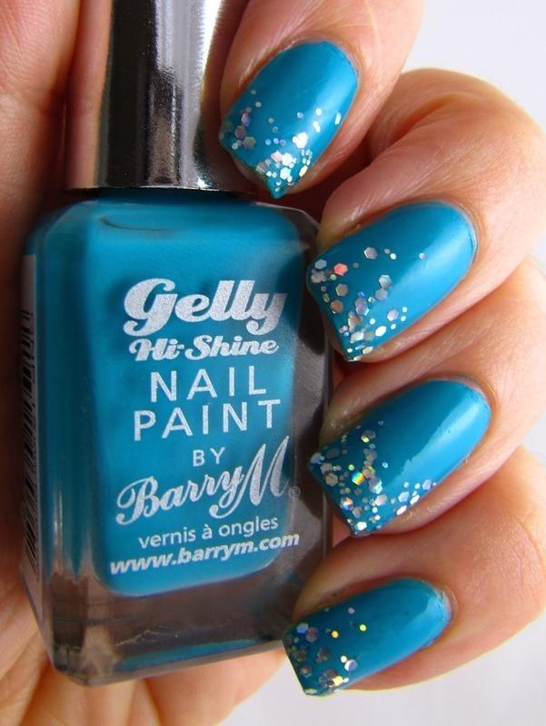 Diamond Tips nail art by Amanda Thompson
