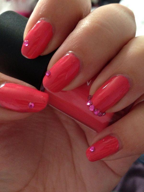 Princess Style nail art by Rachel