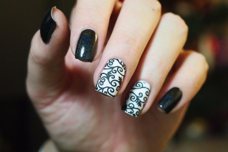 Stickers Nails Holo. nail art by Alicja