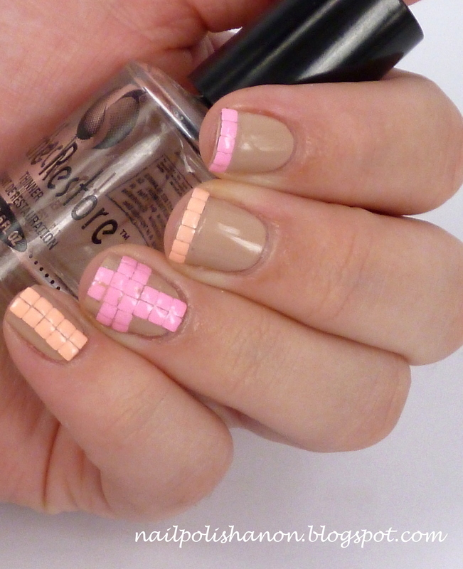 Pastel French nail art by NailPolishAnon