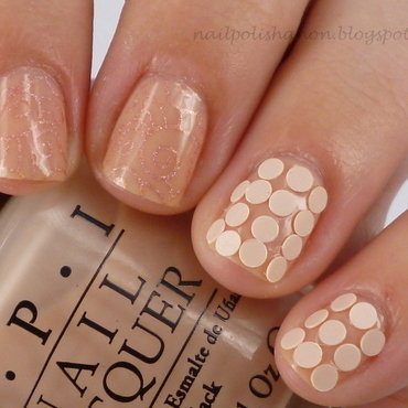 Polka Wind nail art by NailPolishAnon