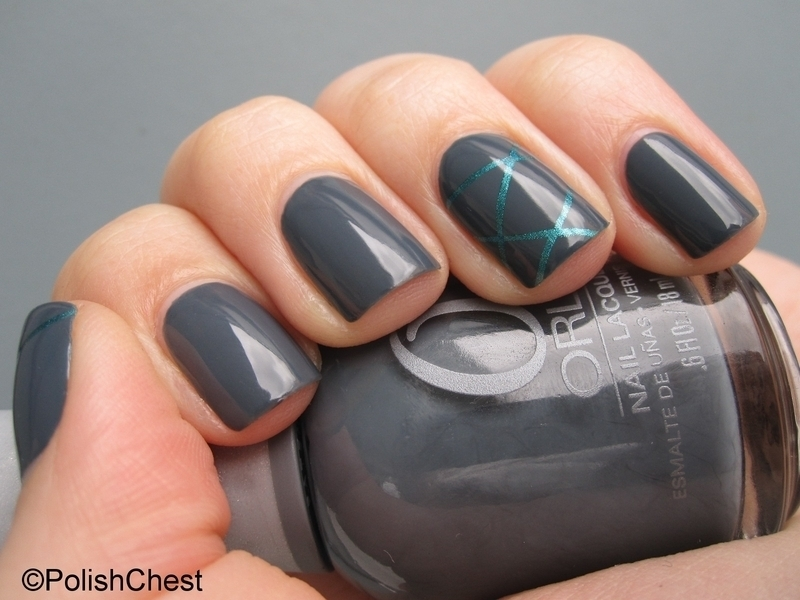 Decoded Wife nail art by Danny