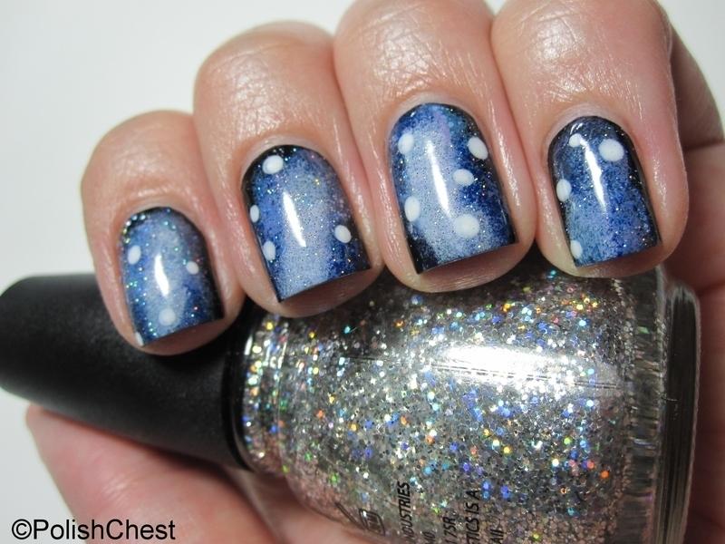 Galaxy Nails nail art by Danny