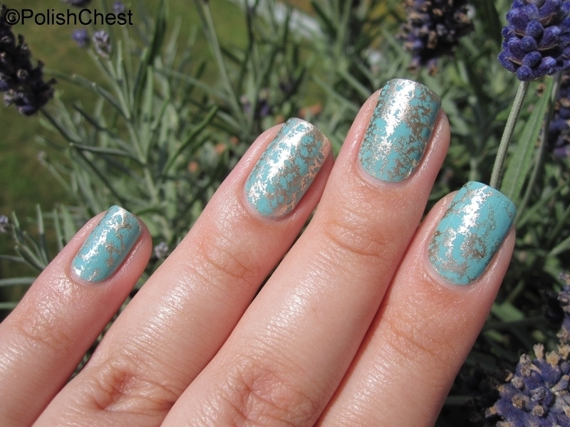Water Spotted Manicure nail art by Danny