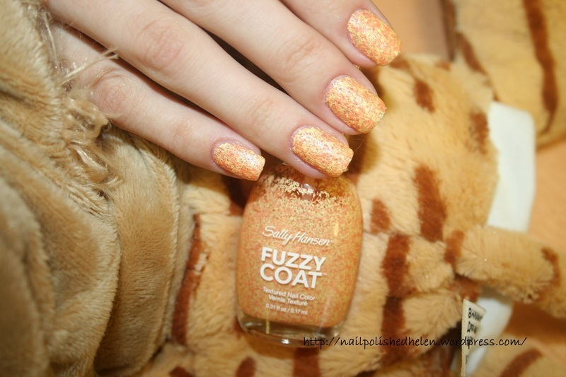 Sally Hansen - №300 peach fuzz nail art by Helen