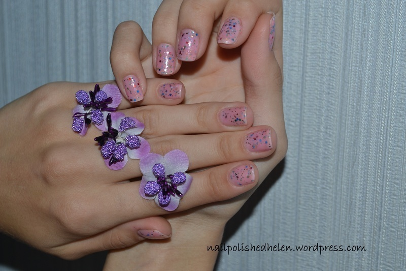 Dance Legend - №948 Pink Marshmallow nail art by Helen