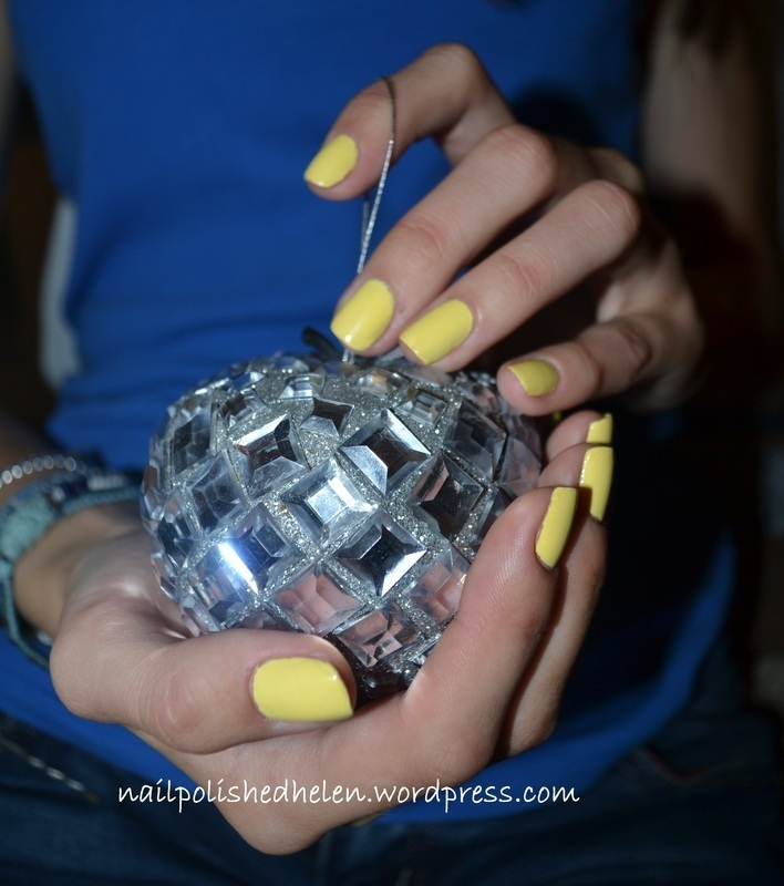 Orly - Lemonade nail art by Helen