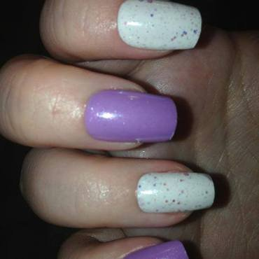 Pretty pastel nails nail art by Tara Clapperton