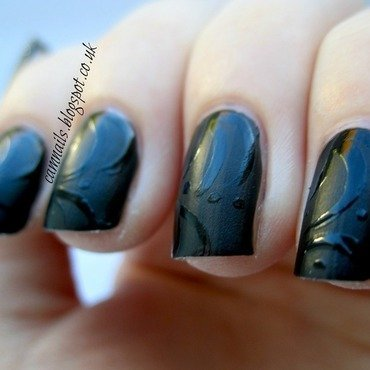 Matte Contrast Nails nail art by Emma