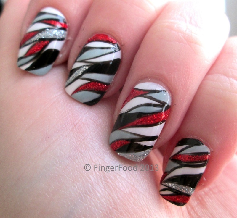 Butterfly Effect nail art by Sam