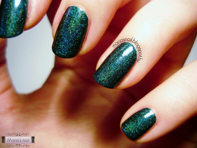 Saint George nail art by Maria