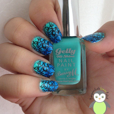 Bluey graident waves stamping    pic 2 thumb370f