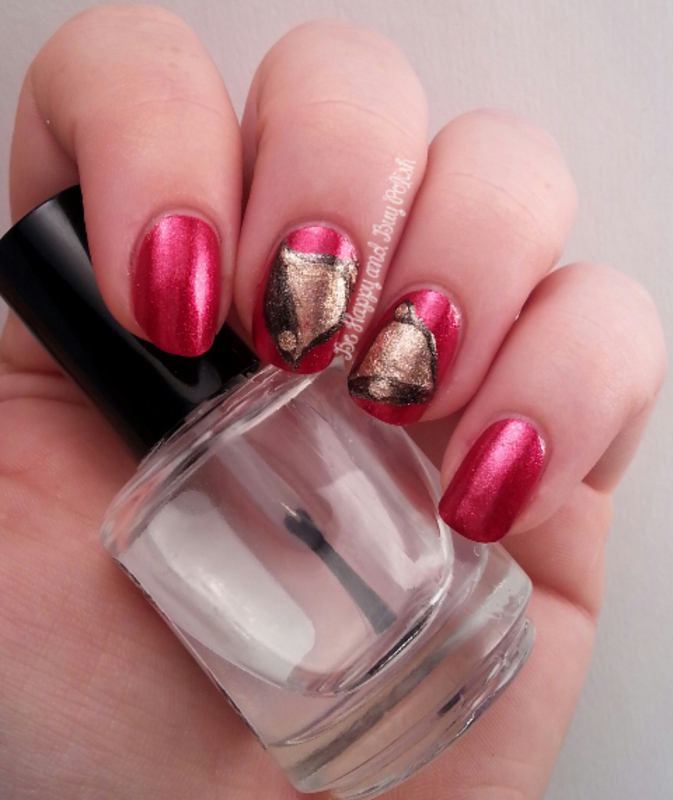 Holiday Bells  nail art by Jessica W