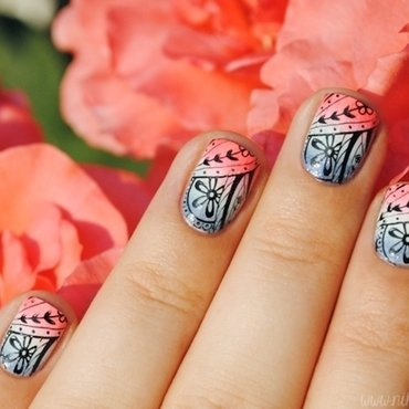 piCture pOlish Blog Fest 2013 Manicure nail art by nihrida