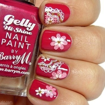 Born pretty store 3d flower nail stickers  xf427  3 copy thumb370f