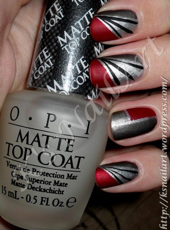 """Pacific Rim in Matte nail art by Kairi E """"K's NailArt"""""""
