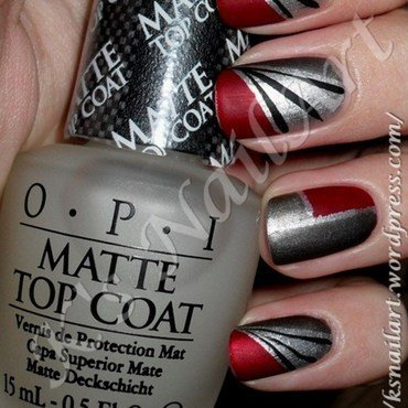 "Pacific Rim in Matte nail art by Kairi E ""K's NailArt"""