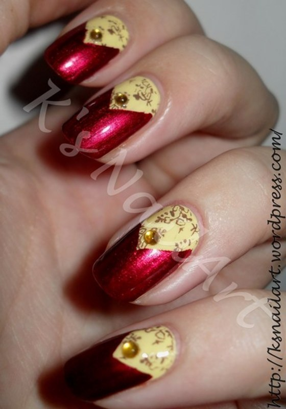"Autumn Nail Design nail art by Kairi E ""K's NailArt"""