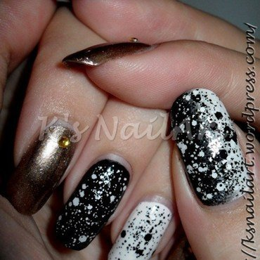 "Twisted Polka Dots nail art by Kairi E ""K's NailArt"""