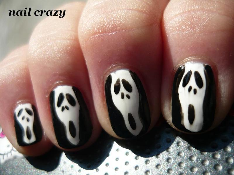 Scary Movie Nail Art By Ana Nailpolis Museum Of Nail Art