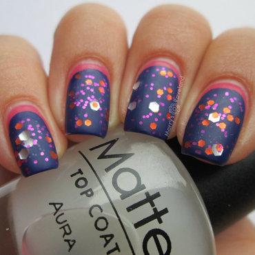Aura matte nail art thumb370f