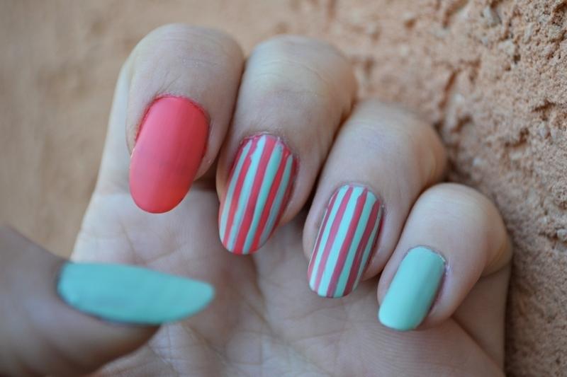 Skittlette nail art by Jovana  Filipovic