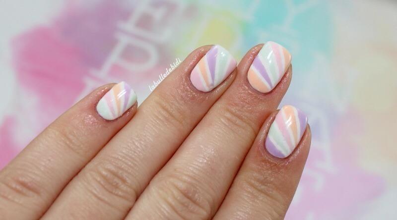 Sweety pastel nail art by Bidibulle
