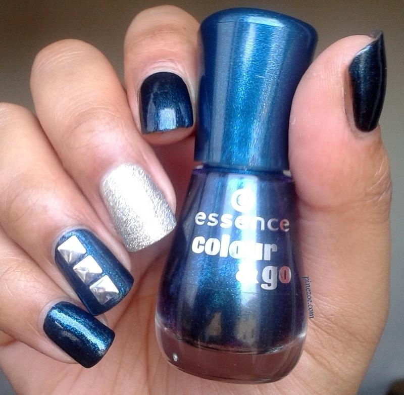 Rock and nail nail art by Pinezoe