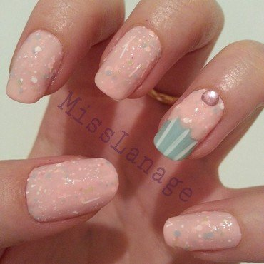 Nail lacquer bring me love cupcake nails thumb370f