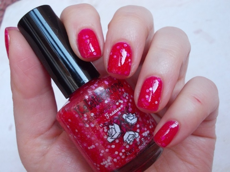 currant jelly nail art by MilkyWay