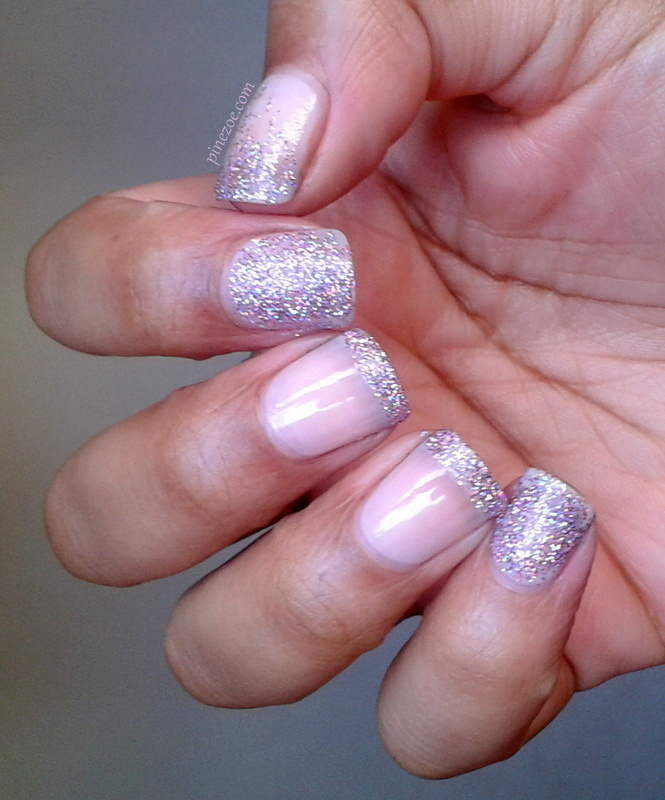 Glitter for life nail art by Pinezoe