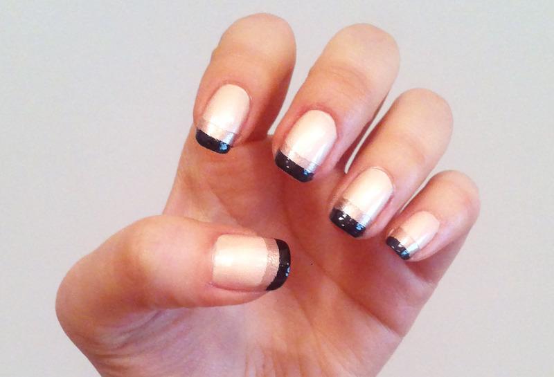 The Villain nail art by Michelle