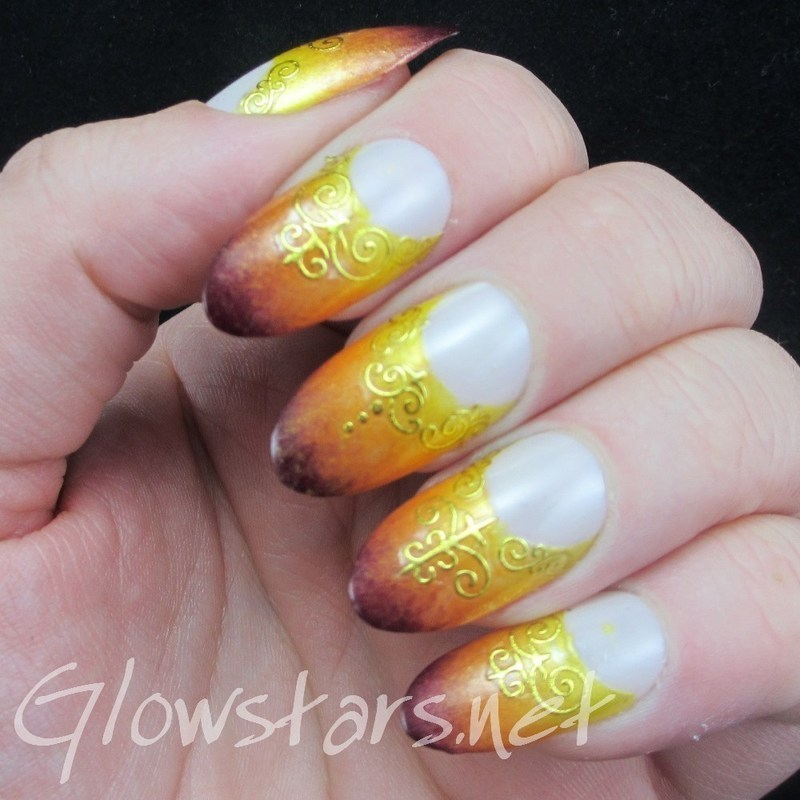 Sink me into stirred-up sea nail art by Vic 'Glowstars' Pires