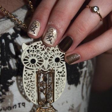 Oriental Nail Art nail art by Kelsie