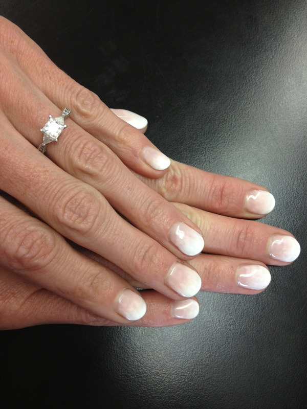 Beautiful Bride  nail art by Laurelle Alexandra