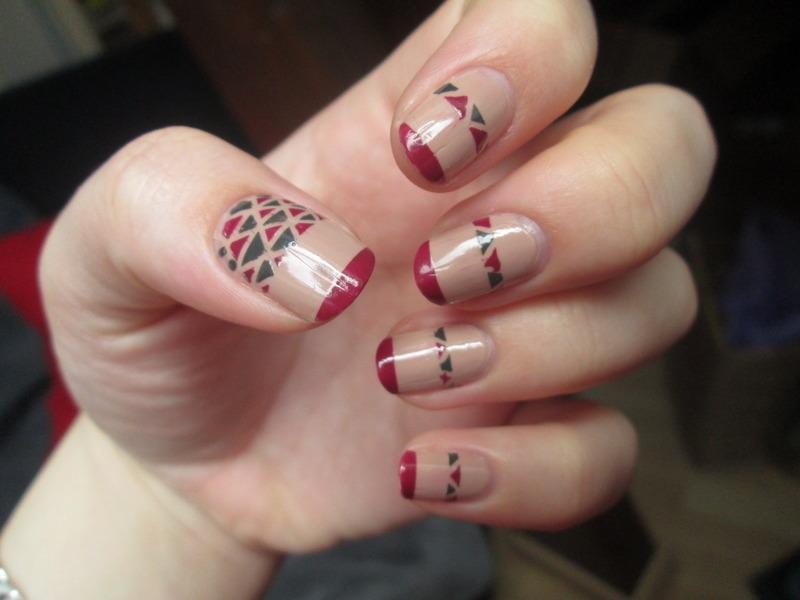 Pocahontas Design nail art by Gang Of Polish