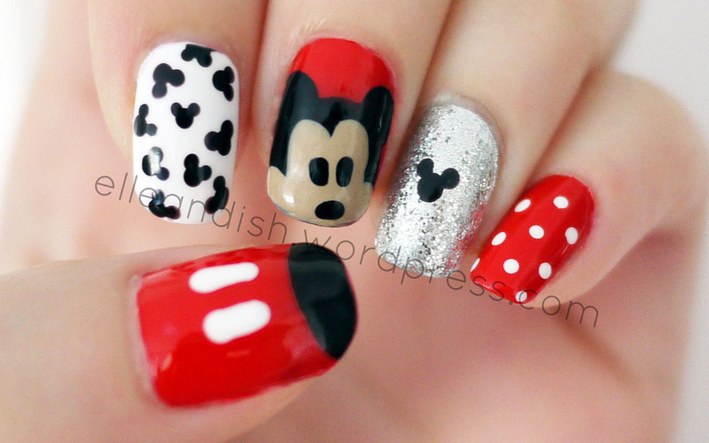 Disneyland Nail Art And Swatches Nailpolis Museum Of Nail Art