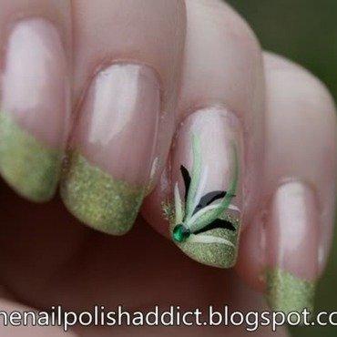 Preen nail art by Leah