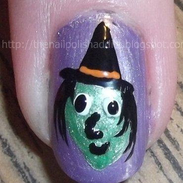 Walk Witch Way nail art by Leah