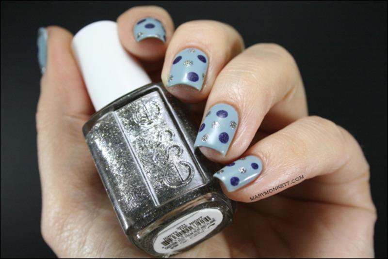 Dotticure inspirée nail art by Mary Monkett