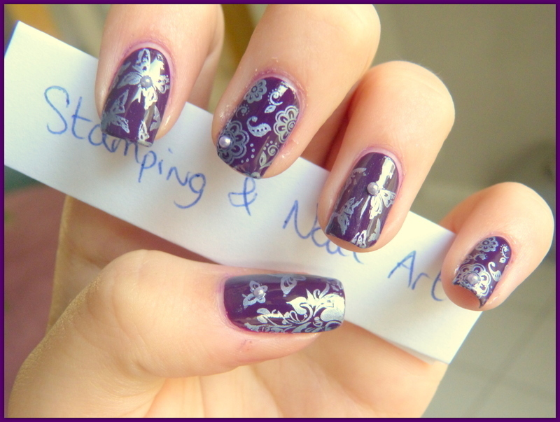 Butterfly constest nail art by Maeva Lukec